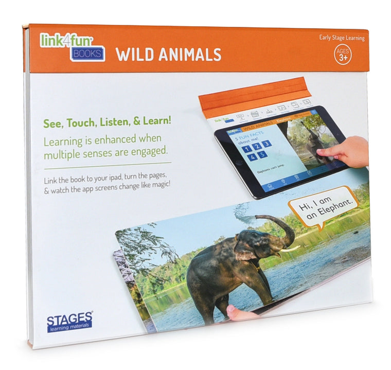 Link4fun Wild Animals Book