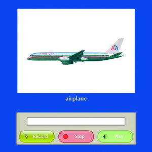 Language Builder Software- airplane