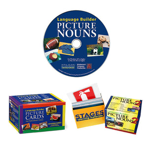 Language Builder Nouns 1 & 2 + Software