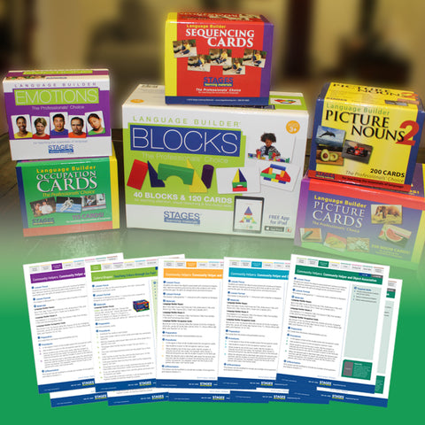 Language Builder Complete Autism Curriculum Card Set
