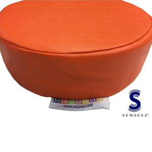 Senseez Orange Circle Cushion