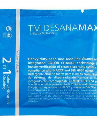 Cleaning powder DESANA MAX blue Sachet, for 4.5 L