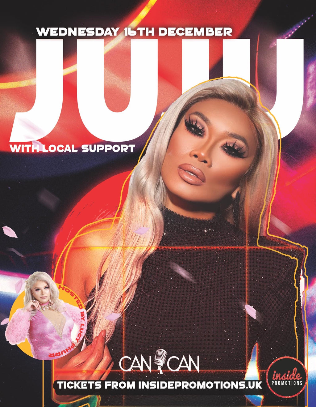 Can Can presents JUJUBEE