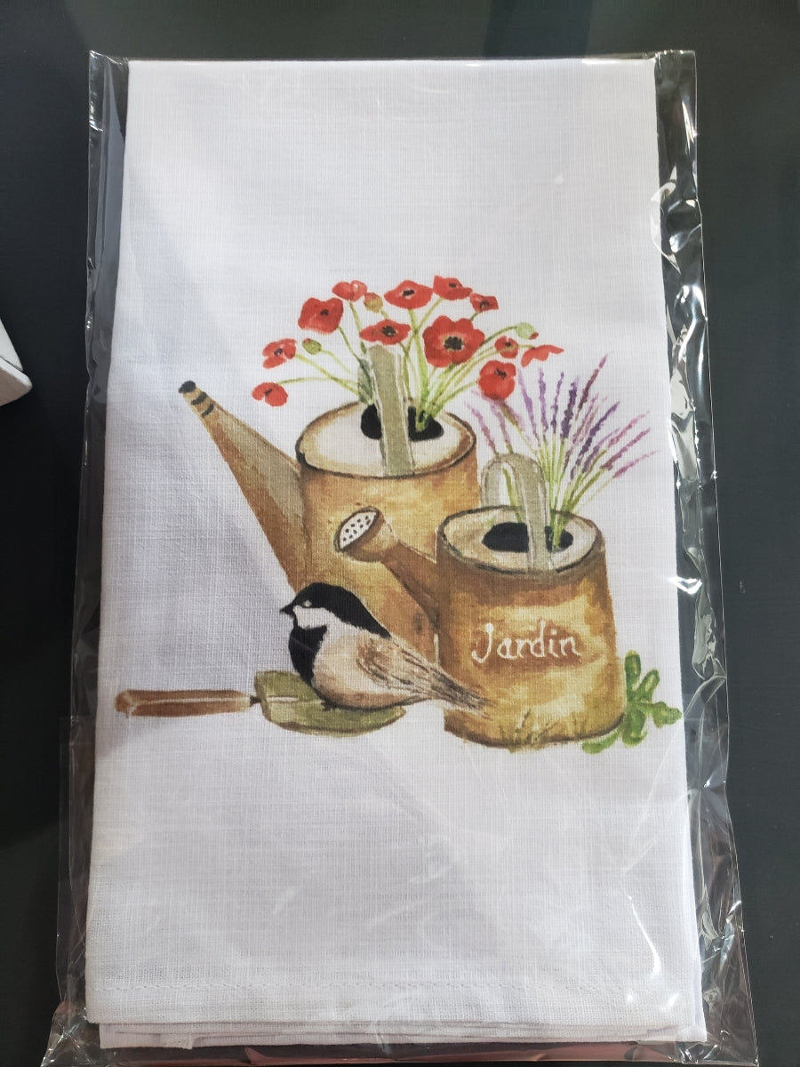 Watering Can Dish Towel