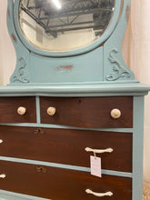Load image into Gallery viewer, Antique Dresser with Mirror