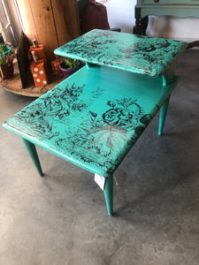 Step Down Accent Table