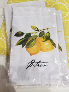 Lemon Dish Towel