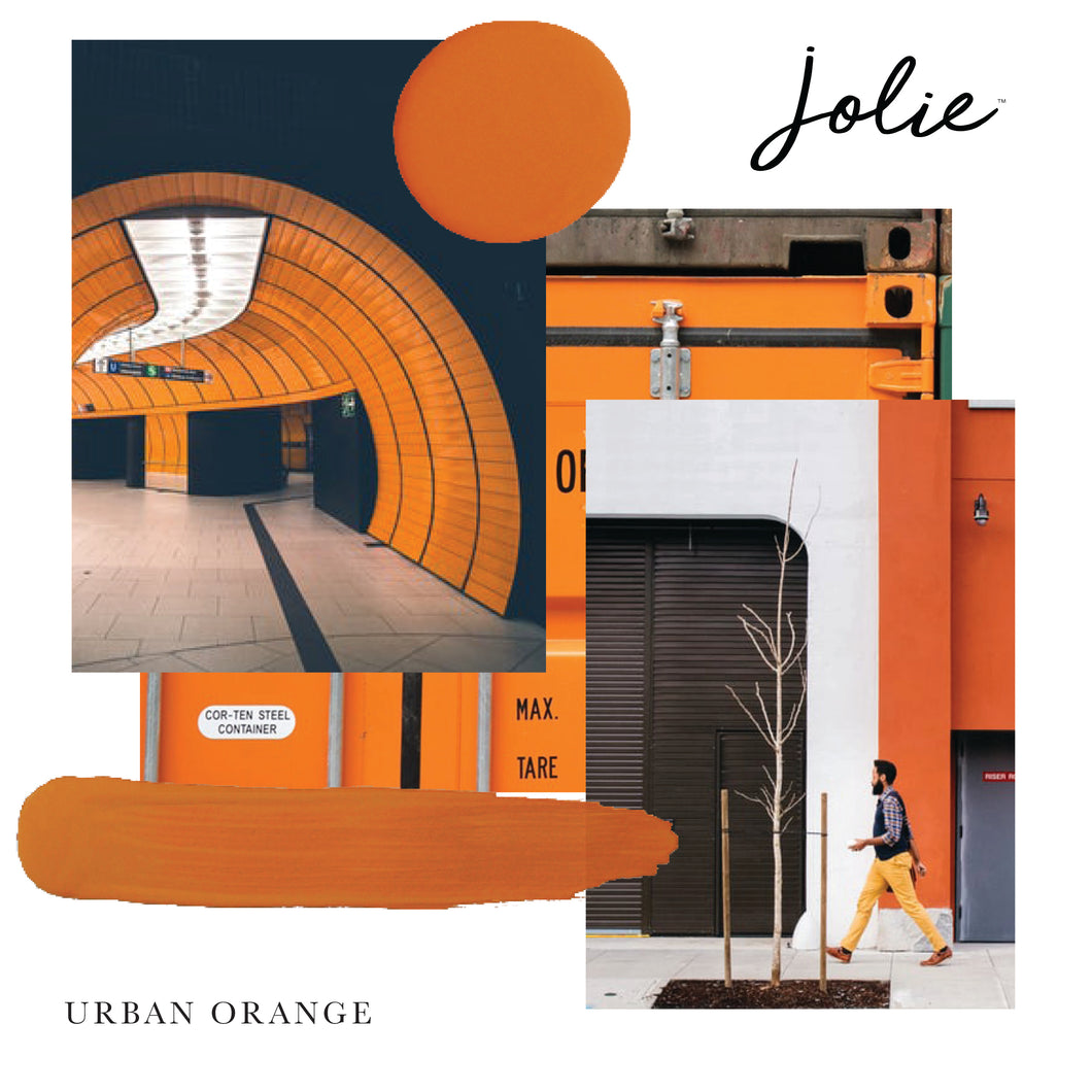 Jolie Paint/Urban Orange