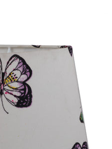 Butterfly Printed White Color Lampshade (Small)