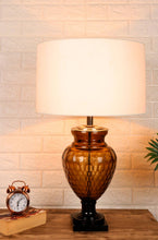 Load image into Gallery viewer, Strawberry Drop Table Lamp with Round White Lampshade