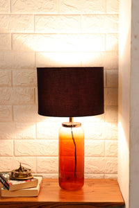 Twilight Table Lamp with 3 [BLACK, GREEN VELVET, GREY] Shade