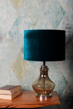 Load image into Gallery viewer, Shahi Jaam Table Lamp with 3 [WHITE, GREEN, DUSTY PINK] Shade