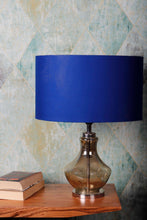 Load image into Gallery viewer, Shahi Jaam Table Lamp with 3 [BLUE, BLACK, WHITE] Shade