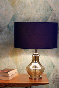 Shahi Jaam Table Lamp with 3 [BLUE, BLACK, WHITE] Shade