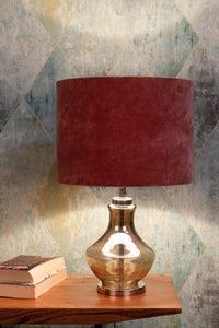 Shahi Jaam Table Lamp with 3 [WHITE, GREEN, DUSTY PINK] Shade