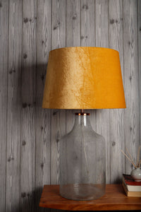 Fizzy Bottle Table Lamp with 3 [BLACK, GREEN, YELLOW] Shade