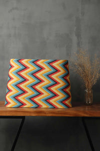 Vibrant Zigzag Print Shade in [FRUSTUM, OVAL, TRAPEZIUM, RECTANGLE] Shapes