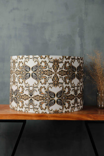 Drum Lampshade for Table Lamp
