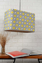 Load image into Gallery viewer, Diamond Print Green Hanging Lampshade in [4 Shapes]