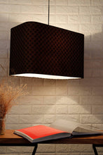 Load image into Gallery viewer, Diamond Print Hanging Lampshade in [4 Shapes]