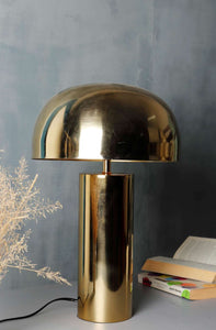 Golden Shroom Table Lamp