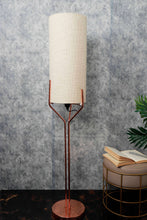 Load image into Gallery viewer, Veins Lamp Stand with Long Light Beige Lampshade