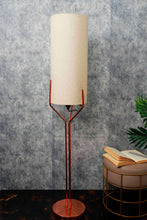 Load image into Gallery viewer, Veins Lamp Stand with Long Beige Color Lampshade