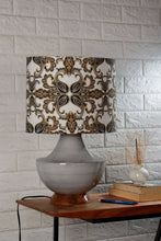 Load image into Gallery viewer, grey glass table lamp