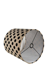 Marble Arrow Lamp Stand with Polka Dots Lampshade (Long, Small)
