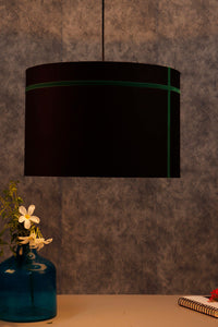 Green Striped Black Hanging Shade in 2 size [SMALL, LARGE]