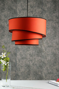 Red Rose Hanging Lampshade