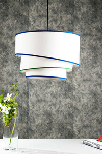 White Rose Hanging Lampshade
