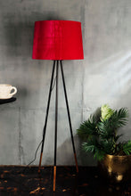 Load image into Gallery viewer, Joss Stick Lamp Stand in 3 [YELLOW, PINK VELVET, GREY] Lampshade