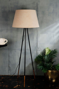 Tapered Beige Lampshade for floor lamps
