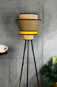 Multi-color Upside Down Lampshade for floor lamps