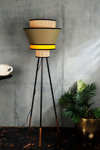Load image into Gallery viewer, Joss Stick Lamp Stand with Upside Down Multi-color Shade