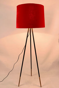 Joss Stick Lamp Stand in 3 [BLACK, WHITE, RED] Lampshade