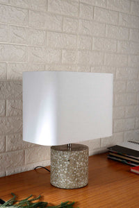White Rectangle Lampshade in [2 Sizes]