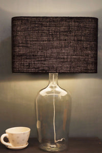 Black Rectangle Lampshade in [2 Sizes]
