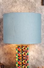 Load image into Gallery viewer, Baby Blue Color Cotton Lampshade for Lamps