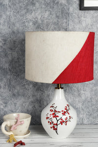 cherry blossom table lamp without light