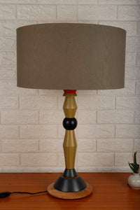 Lassie Table Lamp with 3 [OLIVE GREEN, YELLOW, GREY] Shade