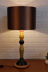 Lassie Table Lamp with 3 [BLACK, COPPER, WHITE] Shade