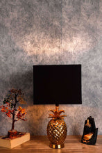 Load image into Gallery viewer, Black Rectangle Semi Opaque Lampshade