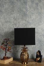 Load image into Gallery viewer, Tropical Table Lamp with 5 [VELVET, WHITE, BLACK, YELLOW, BEIGE] Shade