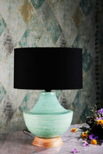 Load image into Gallery viewer, green table lamp