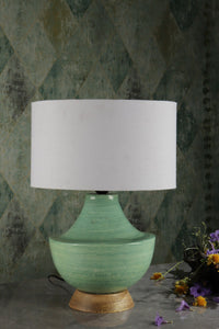 green lamp shades for table lamps