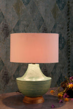 Load image into Gallery viewer, emerald green table lamp