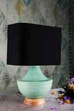 Load image into Gallery viewer, Clear Bottle Table Lamp with 2 [Black, Beige, White] Lampshades