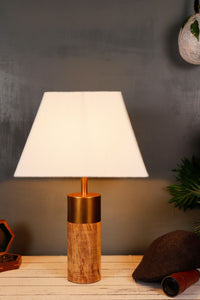 Old is Gold Table Lamp with 3 [White, Black, Beige] Lampshade